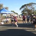Start 21k run & 15k walk