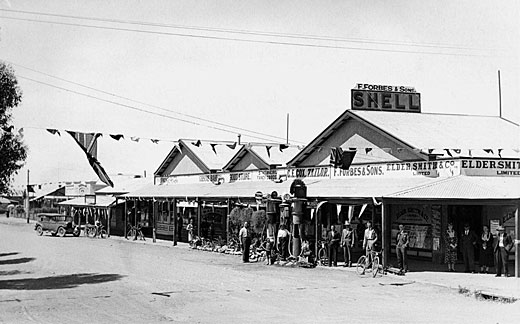 Forbes Buildings, Orroroo 1930s