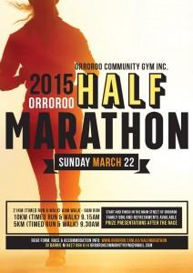 2015 Half Marathon Poster