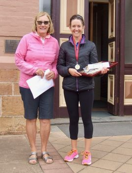 123 Nadene Gillett 21 Run Female Winner