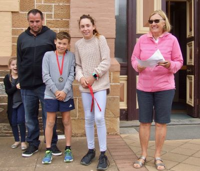 135 Blake & Carla Harris, first Primary Students 5 Run