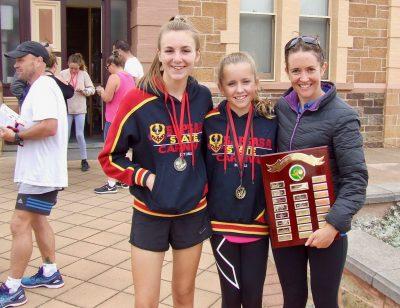 137 Loxton group Jasmine Schubert, Mikayla and Nadene Gillett