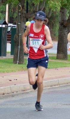 23 Charlie Froling winner 5K run