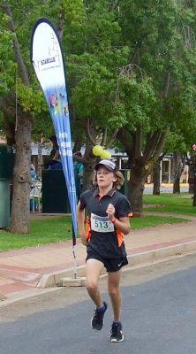 24 Jed Dignan second 5K run
