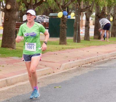 51 Angela Melville Female Winner 10K Run