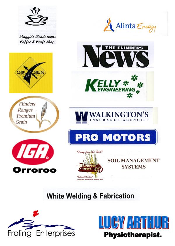 Orroroo Half Marathon Sponsors